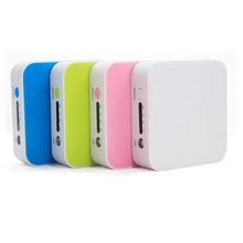 6600mAh cargador de batería portable externo del banco de la energía del USB para el iPad