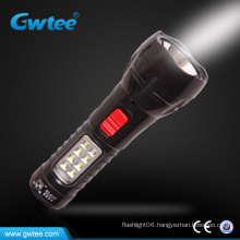 Powerful led solar flashlight led
