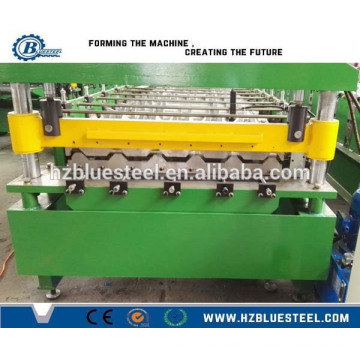 Manufacture Metal Steel Roof Panel Roll Forming Machine Trapezoidal Roof Sheet Forming Machine