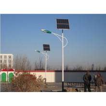 Solar led light pole