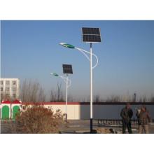 Poteau lumineux à led solaire