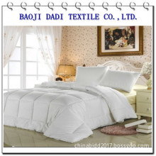 Hotel cotton white fabric for bedding sets