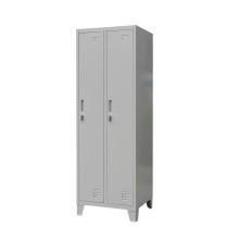 Two Door Metal Locker With Feet