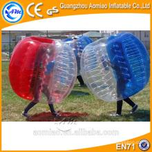 Por encargo inflable de la bola de la inflación del cuerpo