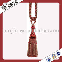 Venda Por Atacado Wood Tassel Tiebacks Fringe Lace, French Home Decor