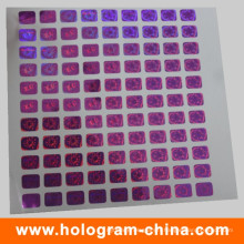 Bonne qualité Étiquette de sécurité holographique à matrice laser