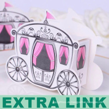 Kreativer Geschenk-Süßigkeitskasten der weißen Karte FSC-Herstellungsauto-Form