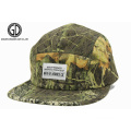 2015 Hot Sale Green Camo Printed Sports Camper Snapback Cap