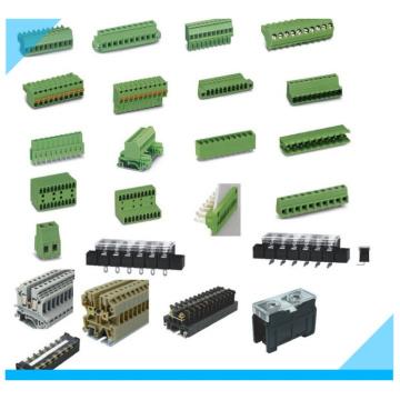 Электрические подключаемых 5.0 5.08 PCB клеммные блоки