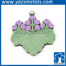 green leaf shaped pendant charms for women decoration