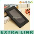 best sale black plastic single eyeshadow pan packaging with mirror