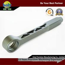 Piezas torneadas CNC del CNC de aluminio de la barra que atan a máquina piezas dadas vuelta