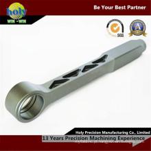 Peças giradas CNC fazendo à máquina das peças do CNC do alumínio de Rod de laço