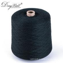 Hilados para obras de punto mezclados lana merino de la lana de la cachemira de 21 a 23 micras al por mayor