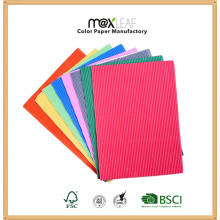 A4 - 210GSM Single Color Embossed Paper Book Binding Cover Board