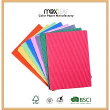A4 - Livro de papel em relevo em 3 cores de 210GSM