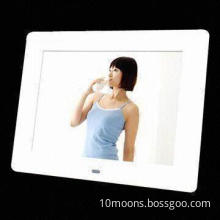 Digital Photo Frame, Supports Music and Video Player