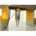 Hand held electric engraving machine for metal