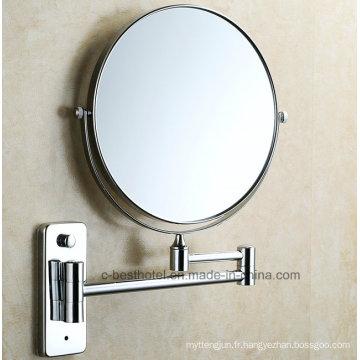Étagère de salle de bain Miroir compacte magique à la mode