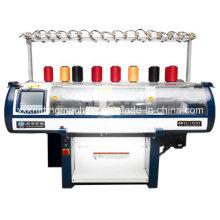 Máquina de confecção de malhas de tecidos para colar de camiseta