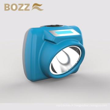 Vente chaude Lampe minière NEW-KL6 avec écran LED, chargeur USB imperméable led lampe mineur CE ATEX
