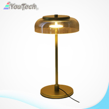 Copper color revivalist led table lamp light 8w