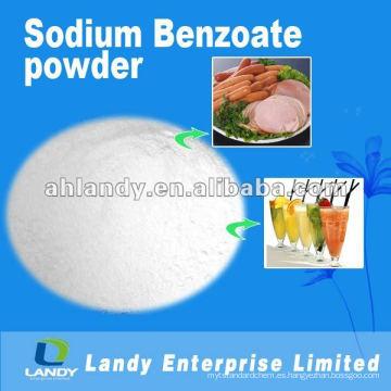 Benzoato de sodio de calidad alimentaria en polvo