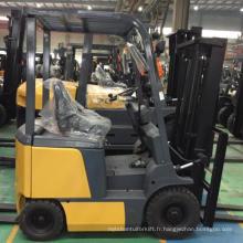Chariot élévateur électrique de 3m 4.5m 5m 5.5m 6m 2.5 tonne chariot élévateur électrique de 3 tonnes