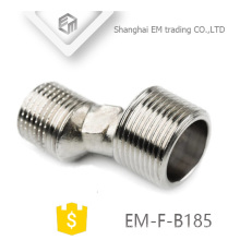 EM-F-B185 Chromed brass NPT eccentric nuts G thread eccentric joints