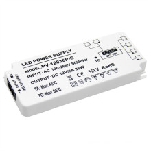 Ultra-thin Switching Power Supply LED driver 36W for Mirror Light Cabinet Furniture Lighting Equipment