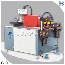 Máquina de corte de dobramento de perfuração da torreta da barra para o cobre