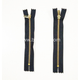 Brass No. 3 Long Zipper for Bags