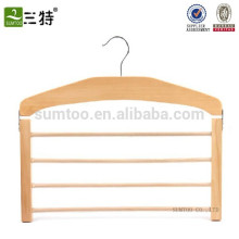 Venta al por mayor una suspensión de madera de la bufanda de la haya del grado, suspensión de madera para la bufanda