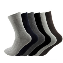 Men′s Cotton Crew Business Stockings Socks (MA001)