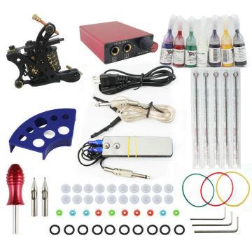 TK104004 Apprentice Tattoo Kit with 2 Tattoo Machines