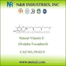 natural vitamin e oil D-alpha Tocopherol 1000IU
