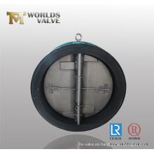 Válvula de retención del tipo de oblea revestida de goma