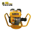 Gasoline powered concrete vibrator machine