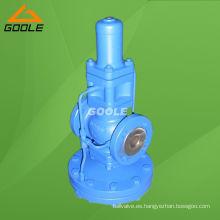 Válvula reductora de presión accionada por piloto Dp27