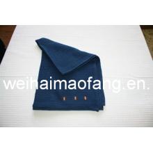 Вафельные ткать из чистого хлопка авиакомпания одеяло