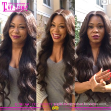 2015 Wholesale Cheap Full Lace Wig With Bangs 100% Unprocessed Wholesale Cheap Brazilian Human Hair Full Lace Wig