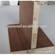 Melamina blockboard / melhor preço de blockboard / folheado blockboard