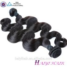 Extensión malasia libre del pelo humano de la Virgen del vertimiento del enredo libre al por mayor del pelo