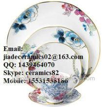 Vaisselle en céramique en porcelaine style vintage Tasse à thé avec couvercle