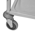 Stainless Steel Three Layers  Dining Trolley