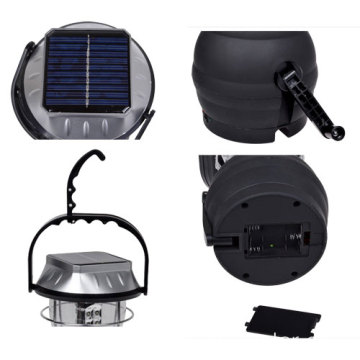 36led Dynomo solar lamp