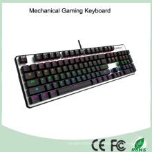 Top Verkauf CE RoHS LED verdrahtete USB-Hintergrundbeleuchtung mechanische Spieltastatur
