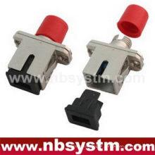 SC / PC - FC / PC HYBIRD metal Adaptador Singlemode simplex
