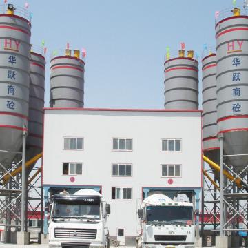 Usine d'usine de production de béton de convoyeur à bande