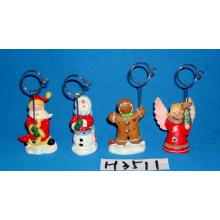 Porte-clip décoratif de Noël avec base de résine
